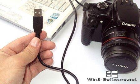 Как перекинуть фотографии с фотоаппарата на компьютер