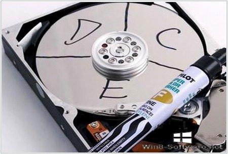 Как разбить жесткий диск на локальные диски с помощью Acronis