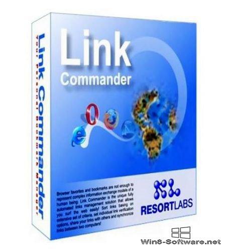Link Commander – менеджер закладок для Windows