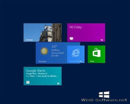Плитку Windows 8 переименуют в Mod
