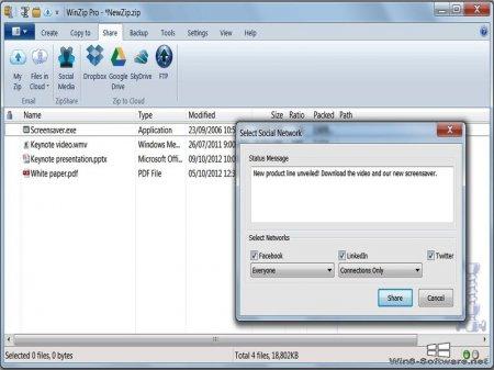 WinZip Pro 22 архиватор на русском языке