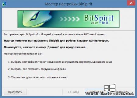 BitSpirit – Продвинутый торрент-клиент
